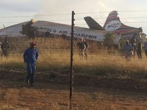PHOTOS: Plane Crash In South Africa Leaves 20 People Injured