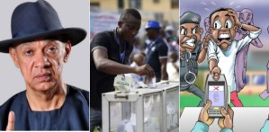 PHOTOS: Common Sense Senator, Ben Bruce Says VOTING Should Be By SMS… Nigerians Reacts