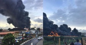 Lagos State Restricts Tankers To Designated Trailer Route After Otedola Bridge Fire