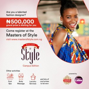 COMPETITION: Are You A Fashion Designer? Don't Miss This Opportunity To Win N500k