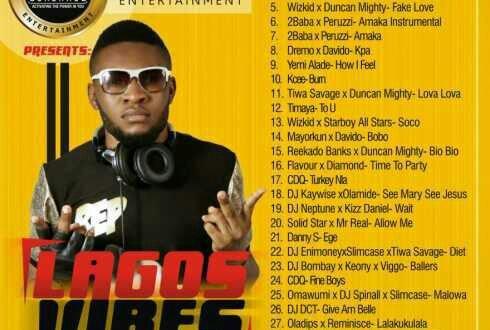 DJ DCT _DE Activator – Lagos Vibes