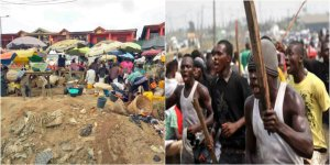 One Feared Dead And Many Injured In Lagos Ketu Market As Rival Gangs Clash