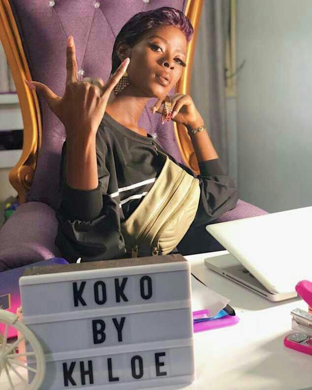 PHOTOS: BBNaija's Khloe Got A Brand New Car From Obafemi Martins