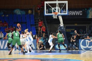 Nigeria Defeats Argentina To Qualify For QUARTER FINAL At Women's Basketball World Cup