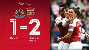 Newcastle United 1 vs 2 Arsenal (Premier League) - Highlights & Goals