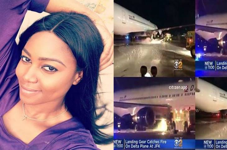 Yvonne Nelson Involved In An Airplane Accident (Video)