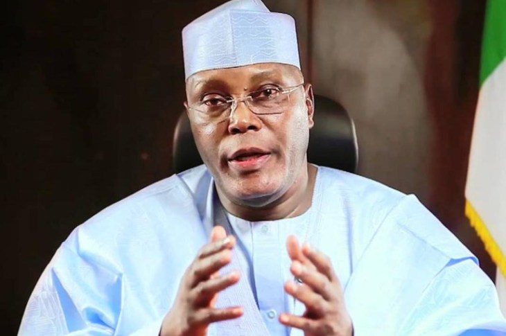Atiku Interprets Buhari's Four Fingers' Gesture To Lawmakers