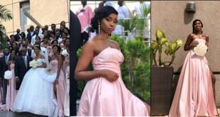 BBNaija's BamBam Stuns As A Bridesmaid In Friend's Wedding