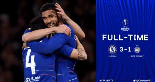 VIDEO: Chelsea 3 vs 1 Bate Borisov (Europa League) Highlights & Goals