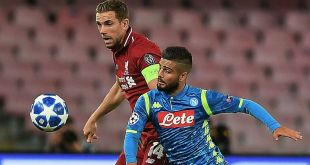 VIDEO: Napoli 1 vs 0 Liverpool (Champions League) - Highlights & Golas
