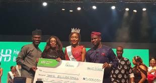 Photos: Chidinma Crowned Miss Nigeria 2018