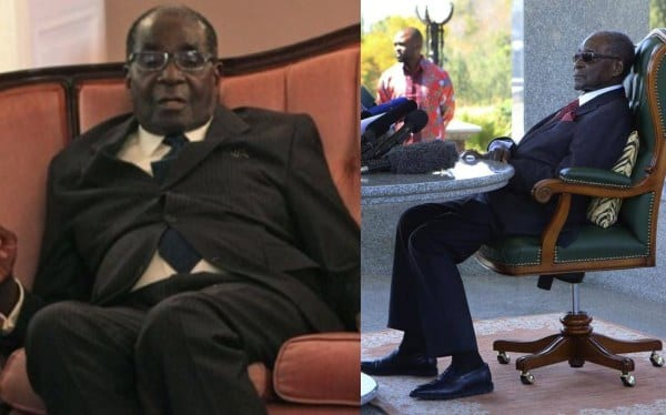 Robert Mugabe Unable To Walk As He Seeks Treatment In Singapore