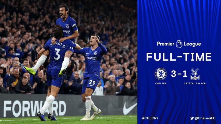 Video: Chelsea 3 vs 1 Crystal Palace (Premier League) - Highlights & Goals