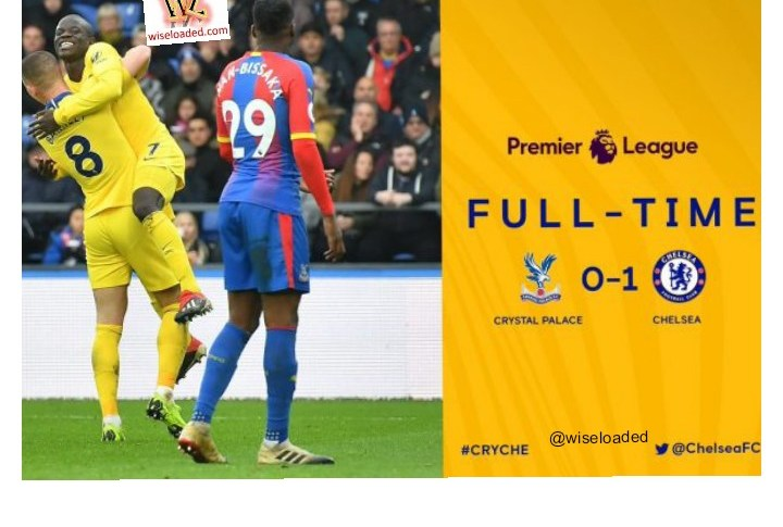 Crystal Palace vs Chelsea 0-1 – Highlights & Goals