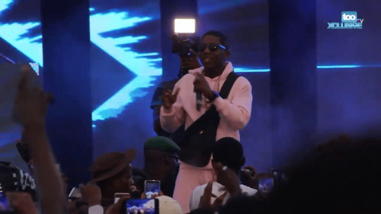 Video: Electrifying Performances By Small Doctor At Omo Better Concert