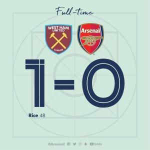 West Ham vs Arsenal 1-0 – Highlights & Goals