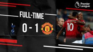 Tottenham vs Manchester United 0-1 – Highlights & Goals