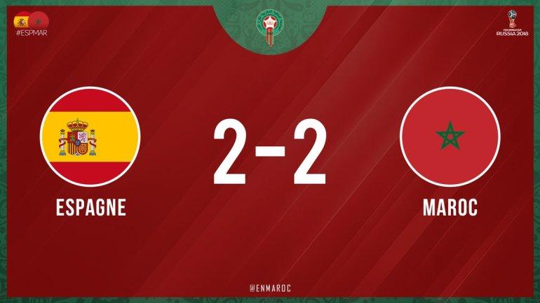 Spain vs Morocco 2-2 Highlight Download