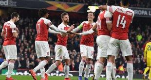 Arsenal vs BATE 3-0 (AGG 3-1) - Highlights & Goals