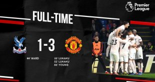 Crystal Palace vs Manchester United 1-3 - Highlights & Goals