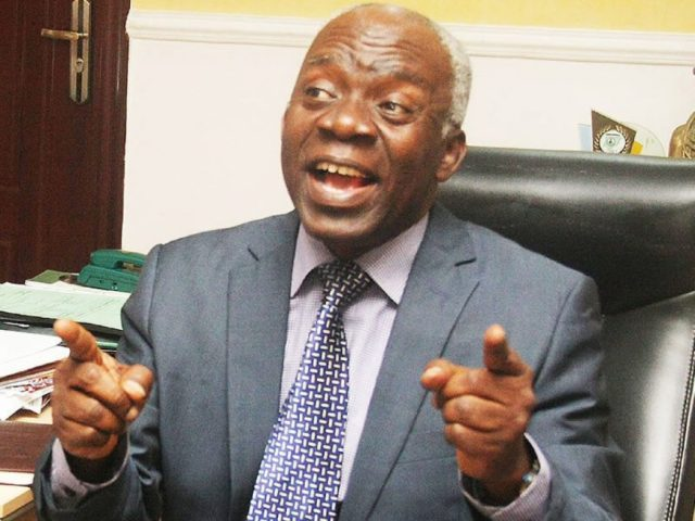 Falana Writes INEC, Tells What To Do About Electoral Offenders