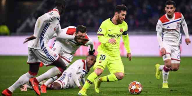 Lyon vs Barcelona 0-0 - Highlights