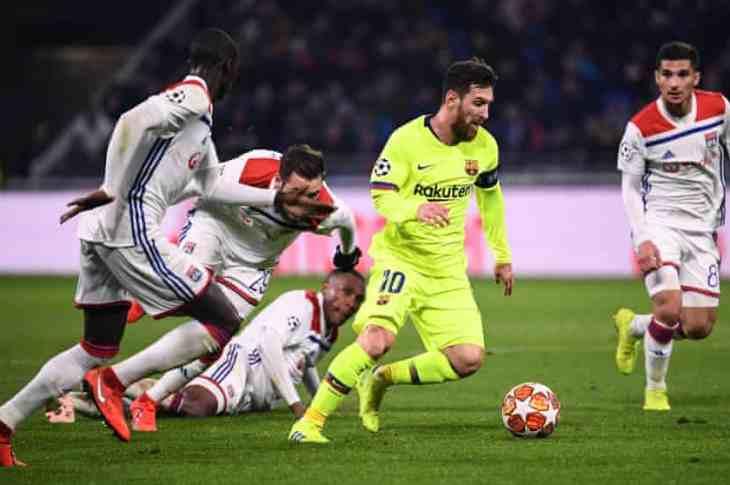 Lyon vs Barcelona 0-0 - Highlights