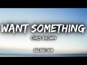 Chris Brown - Want Something