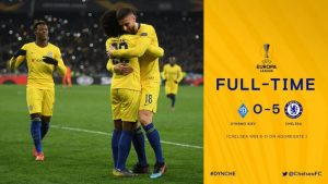 Dynamo Kyiv vs Chelsea 0-5 (AGG 0-8) - Highlights & Goals