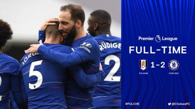 Fulham vs Chelsea 1-2 - Highlights & Goals