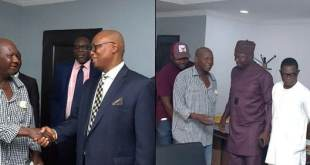 Updates On Baba Suwe's Health As He Meets Minister of Health (Photos)