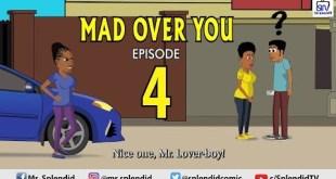 splendid cartoon mad over you