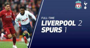 Liverpool vs Tottenham 2-1 - Highlights & Goals