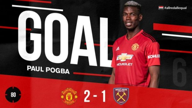 Manchester United vs West Ham 2-1 - Highlights
