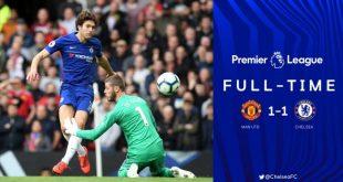 Manchester United vs Chelsea 1-1 - Highlights & Goals