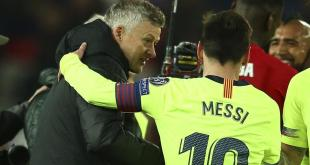 Solksjaer Reveals What Messi Told Him After Old Trafford Defeat