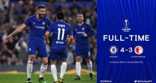 Chelsea vs Slavia Prague 4-3 (Agg 5-3) - Highlights