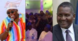 Teni Changes Her Name To Teni Dangote, Dangote Reacts (Video)