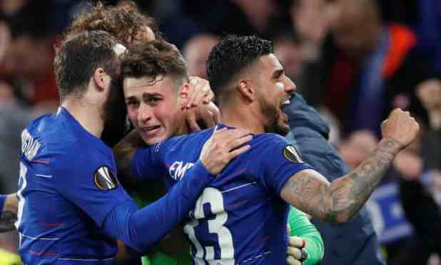 Chelsea vs Frankfurt 1-1 (AGG 2-2) [PEN 4-3] - Highlights