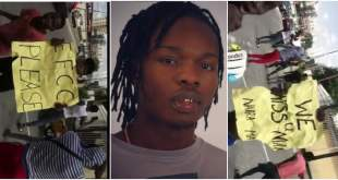 """Free Naira Marley"" - Youths Protest The Release Of Naira Marley (Video)"