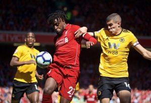 Liverpool vs Wolves 2-0 Highlights & Goals