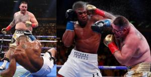 Anthony Joshua Reacts As Andy Ruiz Jr. Defeated Him In America