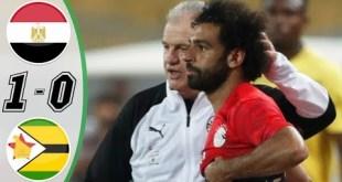 Egypt vs Zimbabwe 1-0 - Highlights & Goals