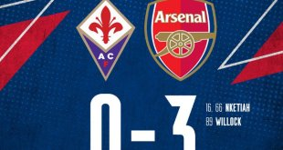 Arsenal vs Fiorentina 3-0 - Highlights & Goals