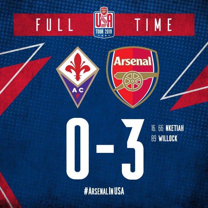 Arsenal vs Fiorentina Highlights & Goals