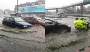 Flood Takes Over Ikorodu Road, Lagos (Photos)
