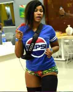 #BBNaija: Watch Trending Video Of Tacha Preaching The Gospel