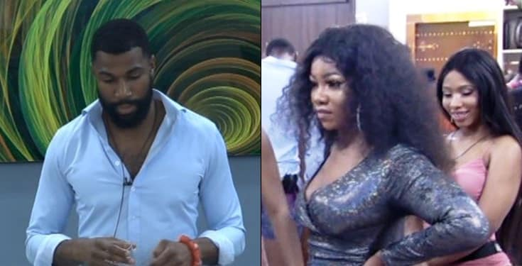 #BBNaija 2019: I Hope Your Coming Back Will Humble You - Mike To Tacha