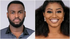#BBNaija : See How Esther Reacted To Nelson