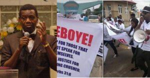 Pastor Adeboye Finally Reacts RCCG Protest